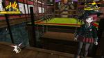 DRv3 First Hidden Monokuma Location - Chapter 4