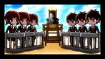 Danganronpa 2 CG - Monokuma explaining the Class Trial