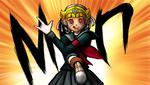 Danganronpa 2 CG - Peko Pekoyama as Sparkling Justice (2)