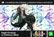 Danganronpa V3 Bonus Mode Card Nagito Komaeda U FR