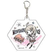 GraffArt Kaede Akamatsu Keychain