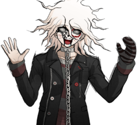 Nagito Komaeda The Servant Halfbody Sprite (12)