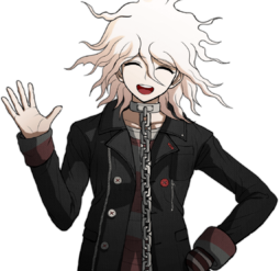 Nagito Komaeda The Servant Halfbody Sprite (2)