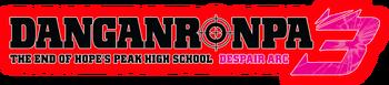 Danganronpa 3 Logos - Despair Arc Animax Asia Website