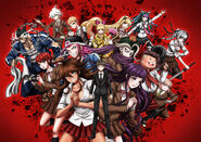 Danganronpa 3 - Promotional Despair Arc Key Art