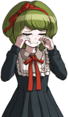 Danganronpa Another Episode Monaca Towa Halfbody Sprite (Vita) (11)