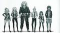 Danganronpa Another Episode Beta Designs The Captives (2)