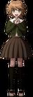 Danganronpa 1 Chihiro Fujisaki Fullbody Sprite (PSP) (2)