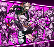 Digital MonoMono Machine Danganronpa 1 Cast Android wallpaper