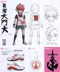 Danganronpa Another Episode Design Profile Masaru Daimon