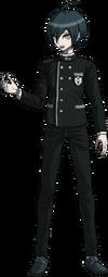 Danganronpa V3 Shuichi Saihara Fullbody Sprite (No Hat) (31)