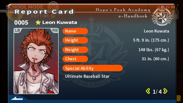 File:Leon Kuwata Report Card Page 1.jpg