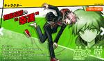 Promo Profiles - Danganronpa 1 (Japanese) - Makoto Naegi