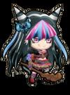 Sengoku Asuka Zero x Danganronpa 3 Ibuki Mioda Sprite