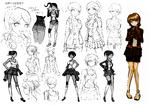 Aoi Asahina Beta Designs 1.2 Reload Artbook