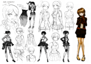 Aoi Asahina Beta Designs 1.2 Reload Artbook