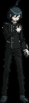 Danganronpa V3 Shuichi Saihara Fullbody Sprite (No Hat) (30)