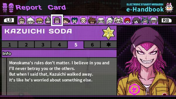 Kazuichi Soda Report Card Page 5