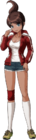Danganronpa 1 Aoi Asahina Fullbody Sprite (PSP) (9)