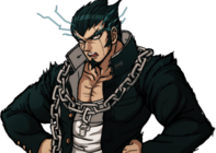Danganronpa 2 Nekomaru Nidai Halfbody Sprite (PSP) (13)