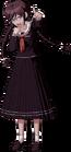 Danganronpa 1 Toko Fukawa Full Body Sprite (PSP) (12)