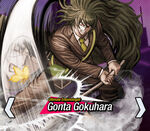 Gonta Gokuhara Danganronpa V3 Official English Website Profile (Mobile)