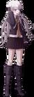 Danganronpa 1 Kyoko Kirigiri Fullbody Sprite (PSP) (4)