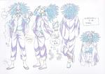 Danganronpa 3 - Character Profiles - Yasuhiro Hagakure (Sketches)