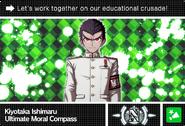 Danganronpa V3 Bonus Mode Card Kiyotaka Ishimaru N ENG