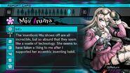 Miu Iruma Report Card Page 1 (For Shuichi)