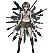 Danganronpa Zero Mukuro Ikusaba Illustration