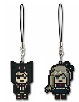 File:FuRyu Minna no Kuji Dot Rubber Mascots Chiaki Nanami and Sonia Nevermind OOB.jpg