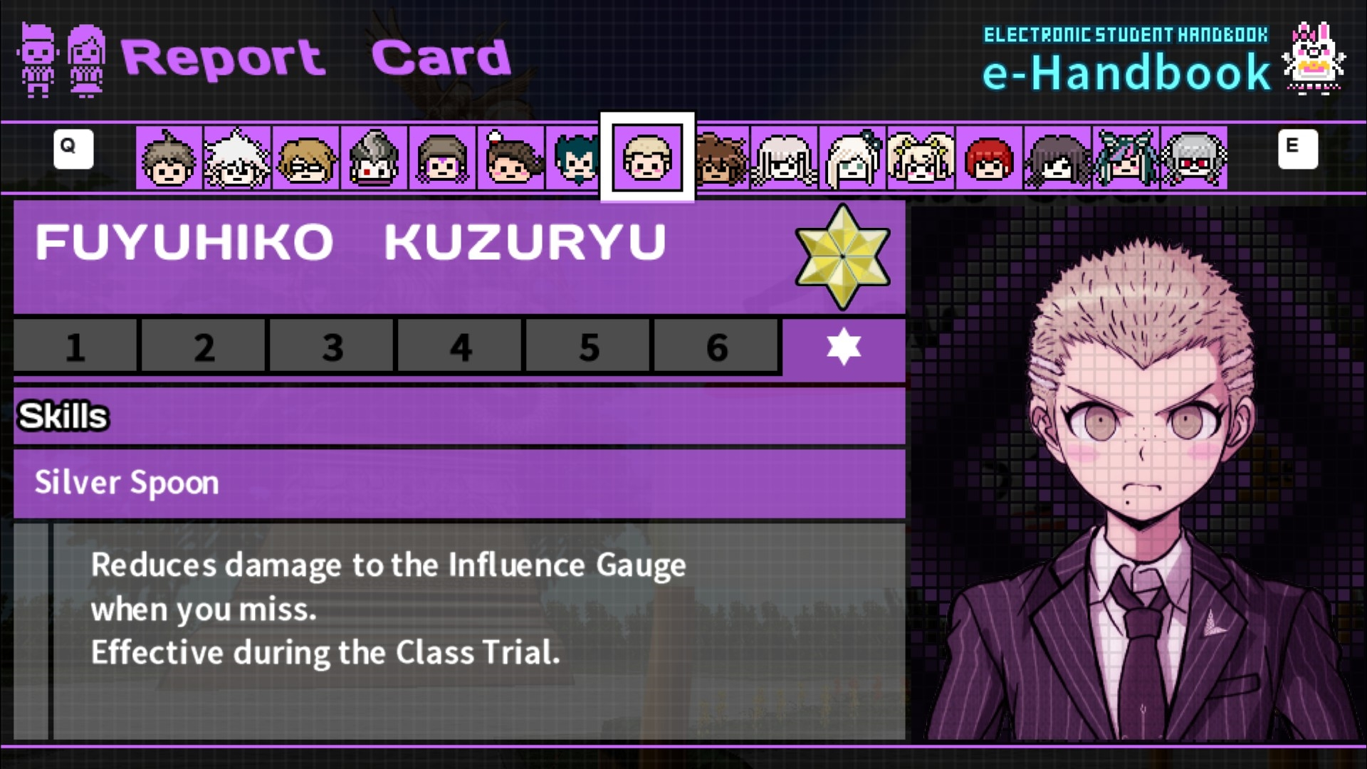 danganronpa 2 report cards  Free Time Events/Fuyuhiko Kuzuryu | Danganronpa Wiki | Fandom