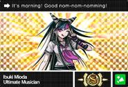 Danganronpa V3 Bonus Mode Card Ibuki Mioda S ENG