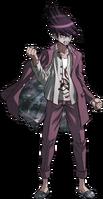 Danganronpa V3 Kaito Momota Fullbody Sprite (19)