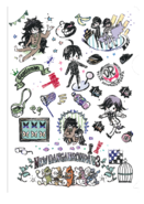 GraffArt Goods Danganronpa V3 Clearfile 02