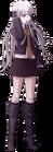 Danganronpa 1 Kyoko Kirigiri Fullbody Sprite (PSP) (3)