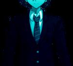 Danganronpa V3 Shuichi Saihara Epilogue CG Sprite (1)