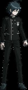 Danganronpa V3 Shuichi Saihara Fullbody Sprite (No Hat) (28)