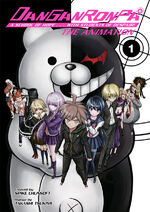 Manga Cover - Danganronpa The Animation Volume 1 (Front) (English)