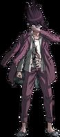Danganronpa V3 Kaito Momota Fullbody Sprite (31)