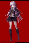 Danganronpa 1 Fullbody Profile Kyoko Kirigiri