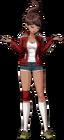 Danganronpa 1 Aoi Asahina Fullbody Sprite (PSP) (23)