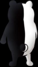 Danganronpa 1 Monokuma Fullbody Sprite (PSP) (9)
