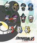 Danganronpa V3 Merchandise NISA Enamel Pins Killing Set
