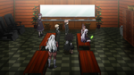 Danganronpa the Animation (Episode 08) - The students talking to Alter Ego (29)
