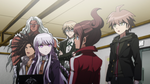 Danganronpa the Animation (Episode 08) - The students talking to Alter Ego (58)