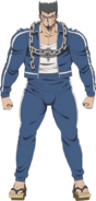 Danganronpa 3 - Fullbody Profile - Nekomaru Nidai