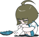 Danganronpa Another Episode Komaru Naegi Socki The Sock Chibi 04