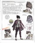 Danganronpa V3 - Day One Dossier Art Booklet - Kaito Momota